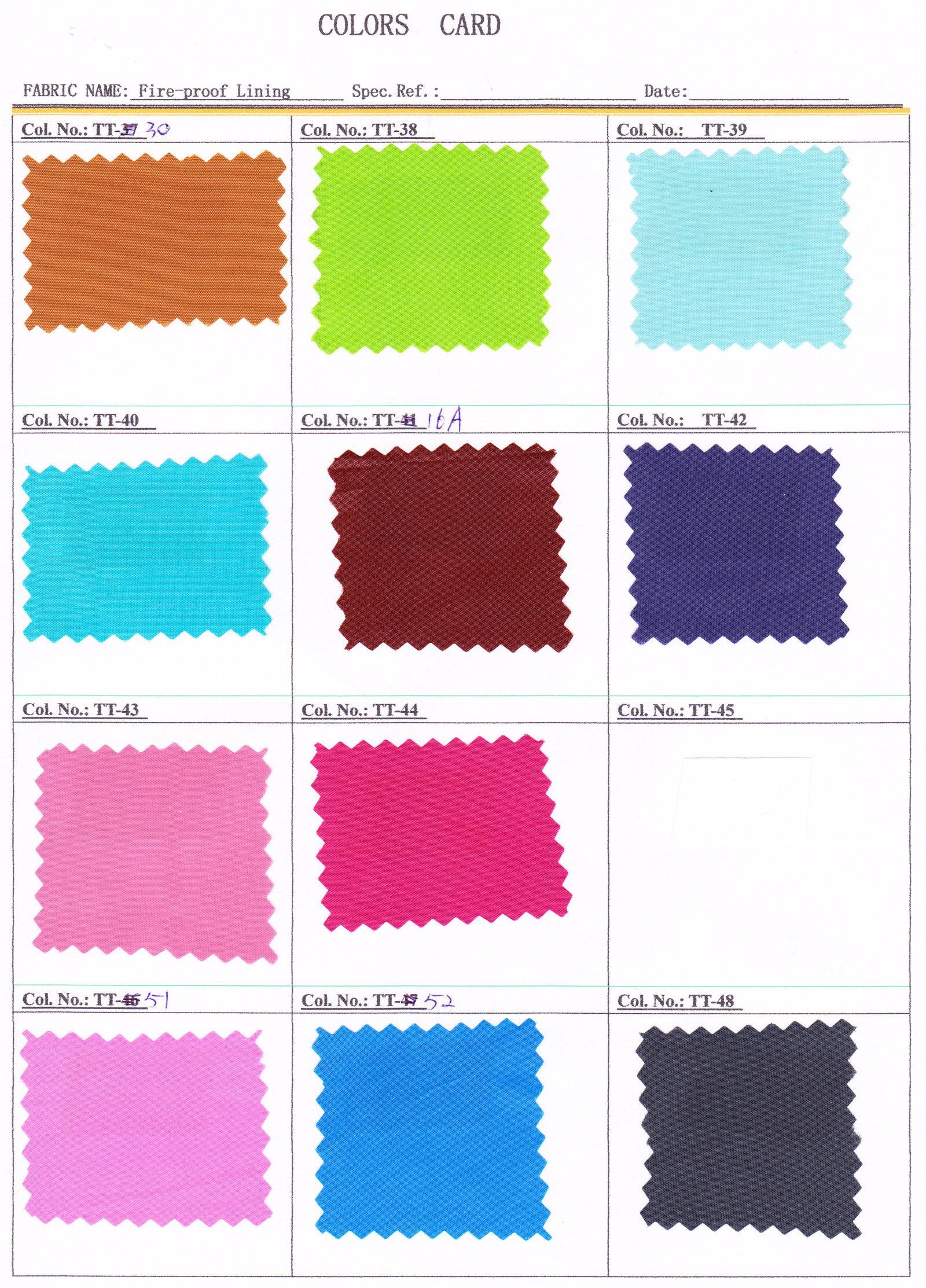 Prijzen en kleurenkaarten vlamwerend katoen en flanel stoffen groothandel online - Doek flanel personen ...